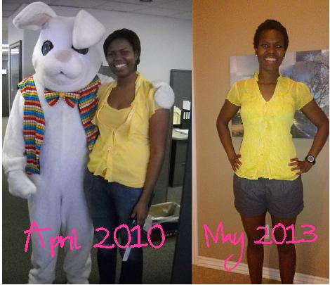 April 2010- I'm on the right May 2013