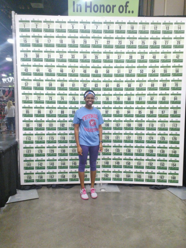 Race Expo We Run to Remember. In Honor of the 168.